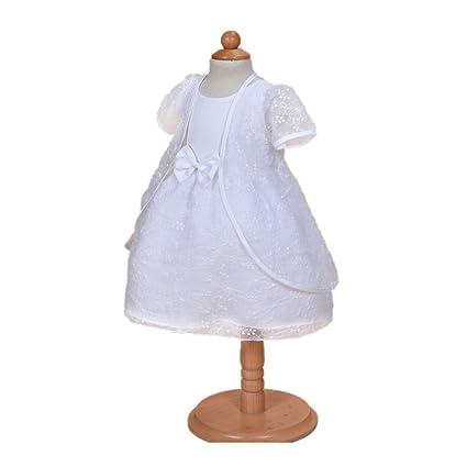 H/B 1519 - Vestido de encaje para niña, 2 piezas,