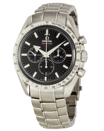 Omega Men's 321.10.42.50.01.001 Speedmaster Broad Arrow Tachymeter Watch