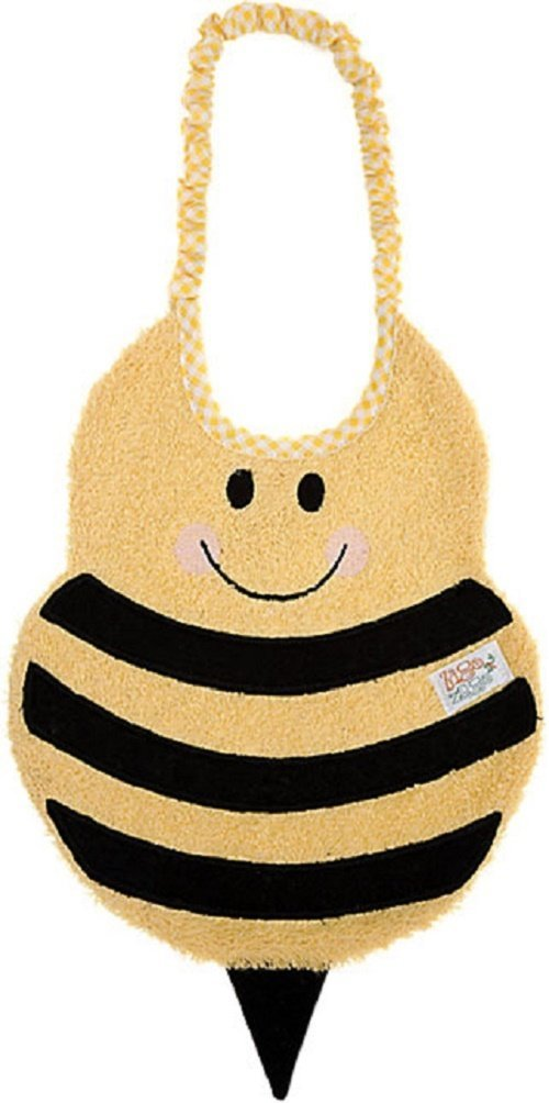 Zigozago - Bib Bee; Tie: Elastic; One Size