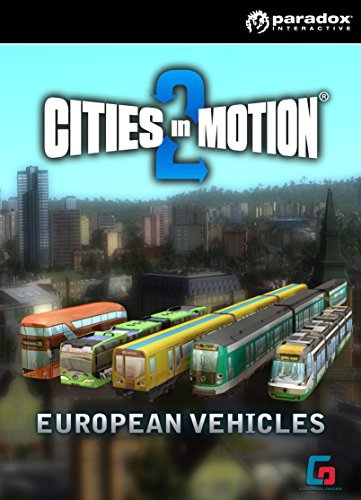 Cities In Motion 2:  European Vehicle Pack [Online Game Code]