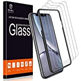 MP-MALL Screen Protector for iPhone XR, [3-Pack] [Tempered Glass] [Alignment Frame Easy Installation] with Lifetime Replacement Warranty