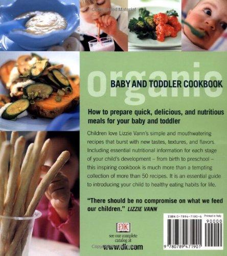 Organic baby toddler cookbook lizzie vann daphne razazan organic baby toddler cookbook lizzie vann daphne razazan 0635517071900 amazon books forumfinder Gallery