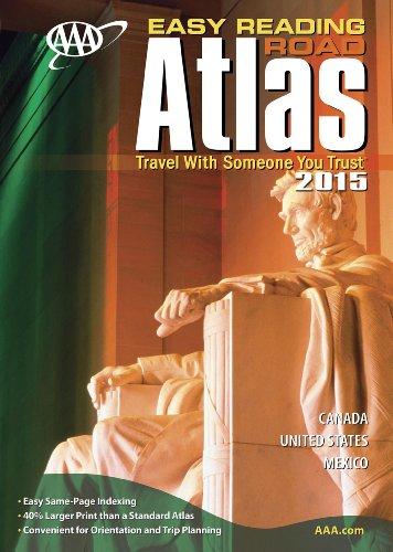 (AAA Easy Reading Road Atlas 2015)