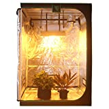 G-LEAF Reflective 600D Diamond Mylar Window Horticulture Grow Tent 56