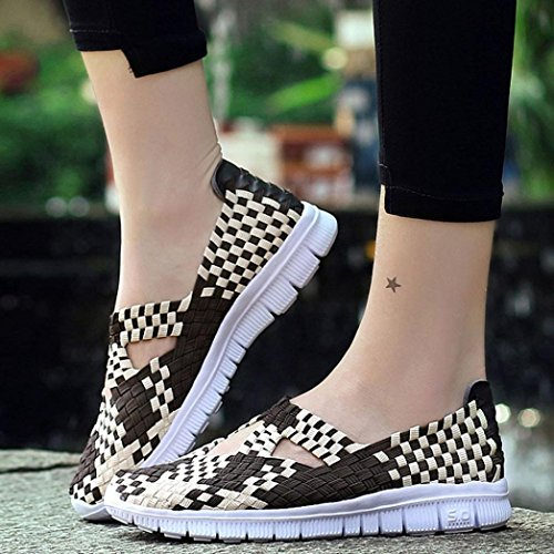 wuayi Femme wuayi Sneakers Basses Sneakers Basses Kaki Kaki Femme wuayi Sneakers OawqXxSHBw