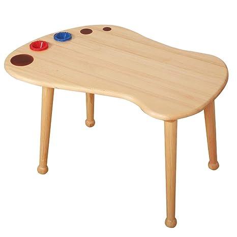 Amazon.com: Mesa y sillas para niños de ZH, mesa de juego de ...