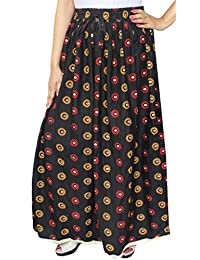 Maple Clothing Cotton Long Maxi Indian Skirt Womens Clothes
