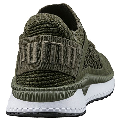 Puma Tsugi Netfit Evoknit Trainers Green Olive Night / Black / White free shipping fake looking for online free shipping real online cheap authentic cheap sale perfect 38JF8y44Q