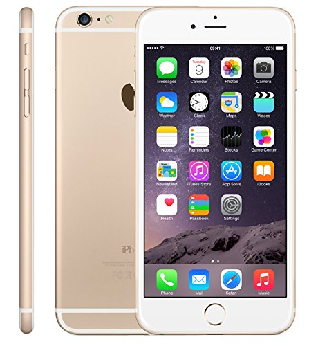 Apple iPhone 6 Plus, GSM Unlocked, 128GB – Gold (Certified Refurbished)