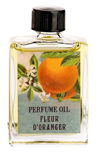 Orange Blossom Citrus Perfume (Magic Fairy Candles Orange Blossom Fleur D'Oranger Perfume Oil all natural hand crafted, 1/2)
