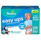 Pampers Easy Ups Training Pant Diapers for Boys 90 3T/4T (Size 5) New!!!
