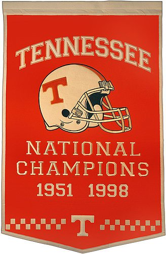 Tennessee Volunteers Dynasty Banner - NCAA Licensed - Tennessee Volunteers Collectibles