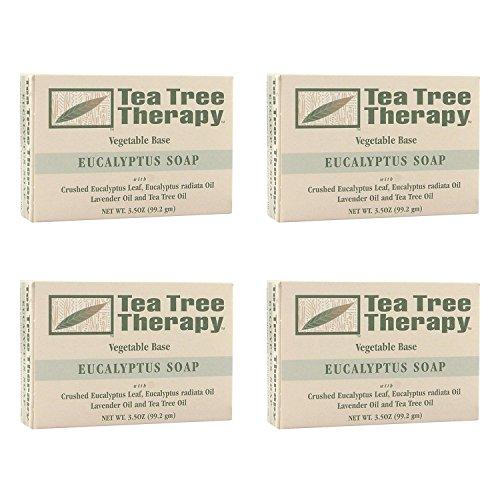Tea Tree Therapy Eucalyptus Soap Vegetable Base, 3.5 Ounc...