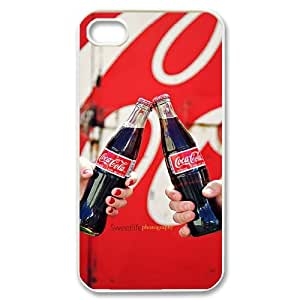 Hjqi - DIY Coke bottlesCover Case, Coke bottlesCustomized Case for iPhone 4,4G,4S