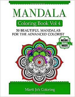 Mandala Coloring Book Vol 4 Marti Jos Coloring 9781495468858