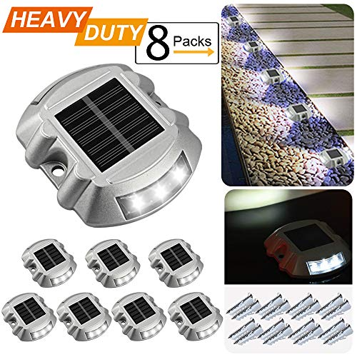 Outdoor Solar Led Puck Lights in US - 6