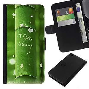 Planetar® Modelo colorido cuero carpeta tirón caso cubierta piel Holster Funda protección Para HTC DESIRE 816 ( Nature Beautiful Forrest Green 11 )