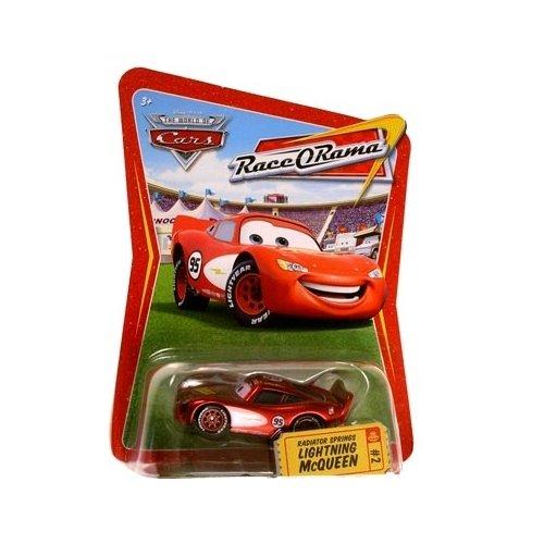World Of Cars: Race O Rama #02 Radiator Springs Lightning McQueen (Race O-rama Radiator Springs)