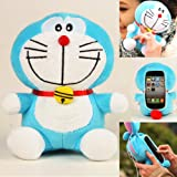 Authentic iPlush Plush Toy Cell Phone Case for iPhone 4 / 4S - Company Direct Sell 100 Percent Authentic (Doraemon)