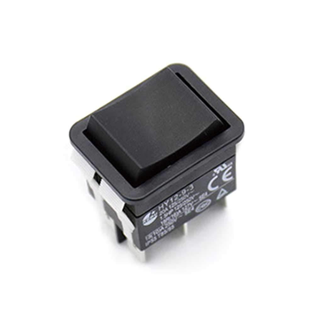 vap26 HY12-9-3 On Off ABS Pulsador Seguro F/ácil de Instalar Interruptor basculante Industrial