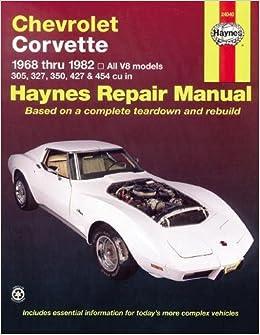 corvette c3 service repair manual pdf 68 82
