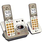 AT&T 2 Handset Cordless Answering System With Caller ID/Call Waiting, Silver EL52213