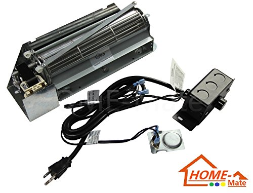 Hongso FBK-250 Replacement Fireplace Blower Fan KIT for Lennox, Superior, Rotom HB-RB250