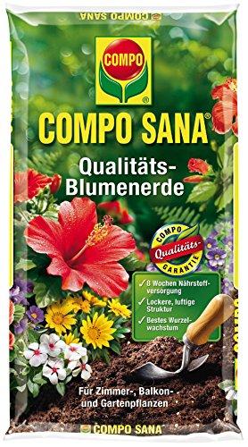 Compo 11121 Sana Qualitäts-Blumenerde, 5 L