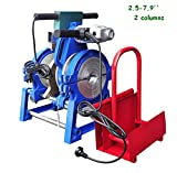 TechTongda 110V 2 clamps 2.5-7.9'' Manual Pipe Butt Fusion Welding Machine Welder PE PR