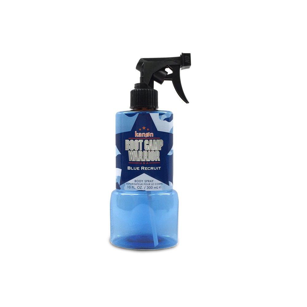 Kanon Blue Recruit Body Spray, 10 Ounce