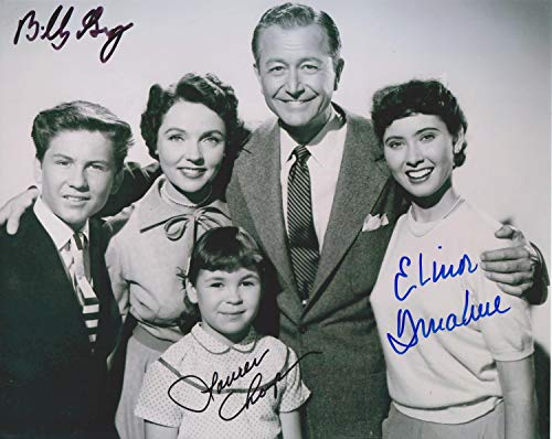 Elinor Donahue/Laurin Chapin/Billy Gray Father Knows Best 8X10 signed original photo