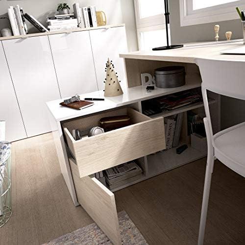 LIQUIDATODO ® - Mesa de estudio 139 cm moderna y barata en natural ...
