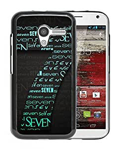 New Beautiful Custom Designed Cover Case For Motorola Moto X With Windows Seven Phone Case