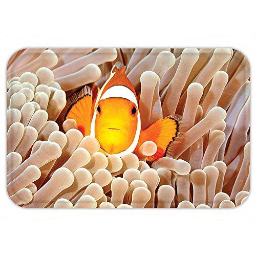 Vroselv Custom Door Matocean Decor Clown Fish Swimming In