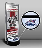 2015 NHL All Star Game Hockey Puck Ticket Stand - Columbus Blue Jackets