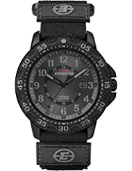 Timex Men's Expedition T49997GP Black Velcro Analog Watch