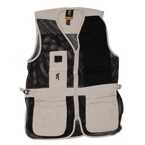 Browning Trapper Creek Left Hand Vest, Sand/Black, Large by Browning (Image #1)