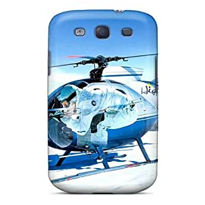 Premium Protection Helicopter Case Cover For Galaxy S3- Retail Packaging
