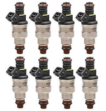 8 Flow Matched TRE 24LB Fuel Injectors Fit Bosch Chevy Ford LS1 LS6 5.7L 250cc
