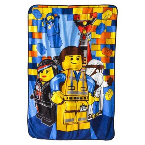 The Lego Movie Emmet Plush Blanket, Twin Size