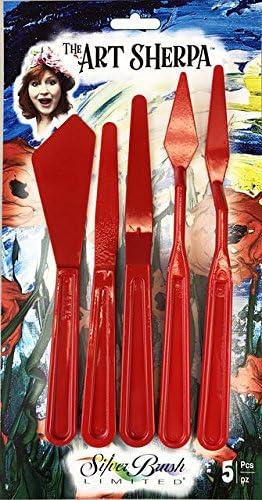 Art Sherpa Palette Knife Set 5pc Set