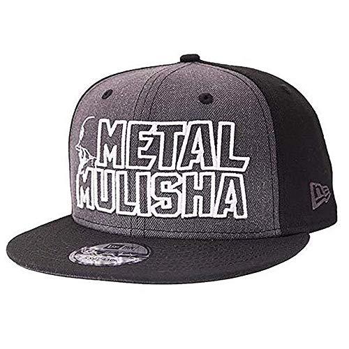 Metal Mulisha Logo Mens Hat - Metal Mulisha Men's Cast New Era Snapback Adjustable Hats,One Size,Black
