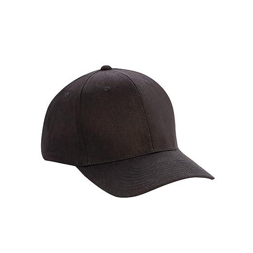 1 Dozen (12) Wholesale Blank Cotton Twill Baseball Hats - 6 Panel Pro Style 75ef7b745b1
