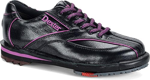 Dexter Women's SST 8 SE Bowling Shoes, Black/Purple, 8 by Dexter