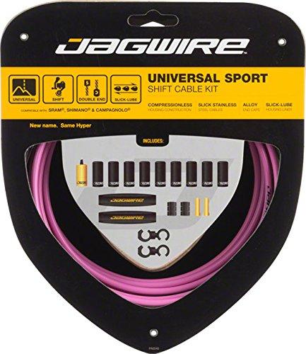 Jagwire Universal Sport Shift Cable Kit, Pink by Jagwire