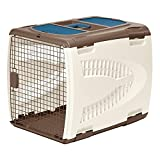 Travel Dog Crates,Soft Sided Pet Carriers,DELUXE -Portable Dogs Crate,Portable Pet Carrier,Includes Food And Water Tray & EBOOK BEST MEALS FOR YOUR DOG