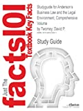 Studyguide for Anderson's Business Law and the Legal Environment, Comprehensive Volume by David P. Twomey, ISBN 9781133587583, Cram101 Incorporated, 1490220879