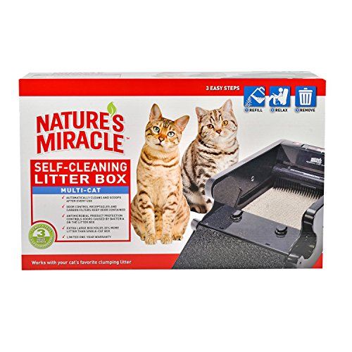 Nature S Miracle Self Cleaning Multi Cat Litter Box Reviews
