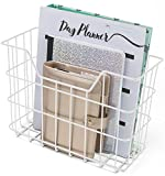 Sorbus Desk Organizer Set, 5-Piece Desk Accessories Set Includes Pencil Cup Holder, Letter Sorter, Letter Tray, Hanging File Organizer, and Sticky Note Holder for Home or Office