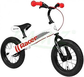 Bicicleta de carreras Sportrike RACER Blanca: Amazon.es ...